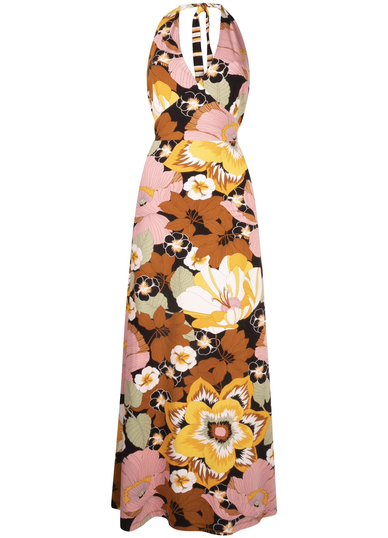 Dress Halter Blooming Print